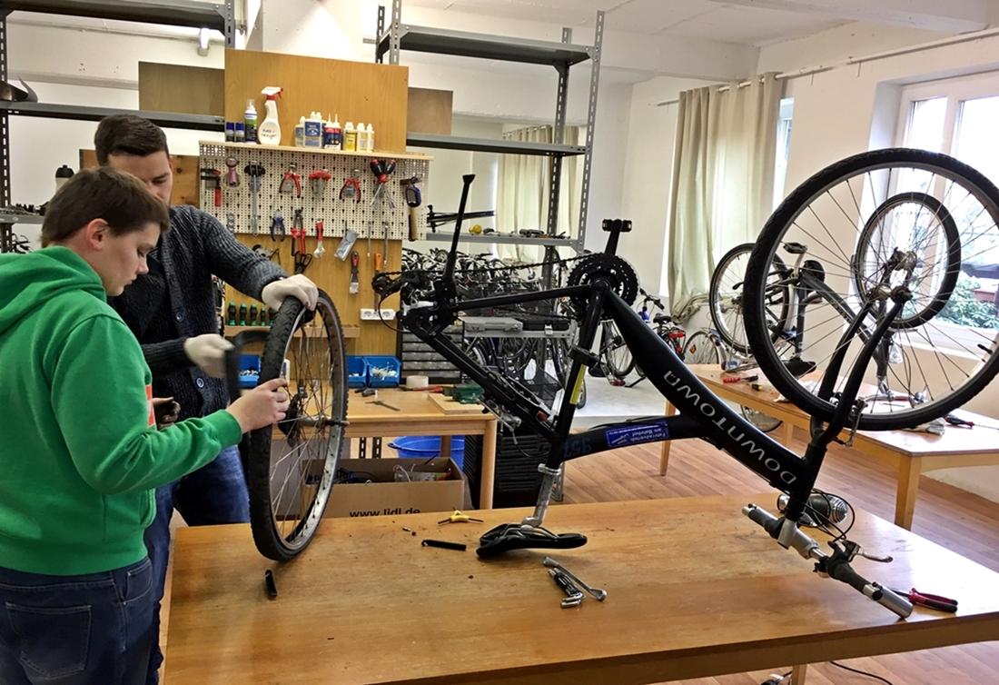 Soziale Fahrradwerkstatt: Ein Gewinn für alle